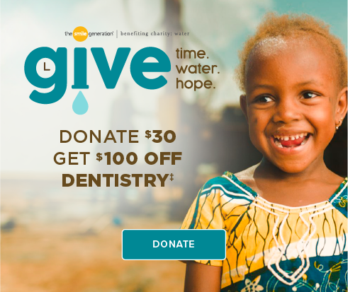 Donate $30, Get $100 Off Dentistry - Sabino Smiles Dentistry
